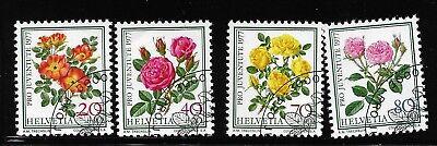 Briefmarken Schweiz 1112 - 1115 gestempelt  Pro Juvente