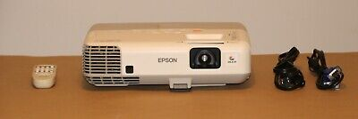 Epson PowerLite 95 3LCD Projector 1080i HDMI.Lamp Hrs Vary from 301 to 487 Hours