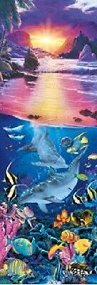 - Jigsaw puzzle Animal Fish Crystal Sunset 500 piece NEW