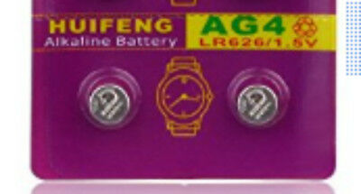 Button Cell (2 CELLS INCLUDED) 377 LR626 SR626 626A Battery Cell Alkaline 1.5V Included Button Cell Battery