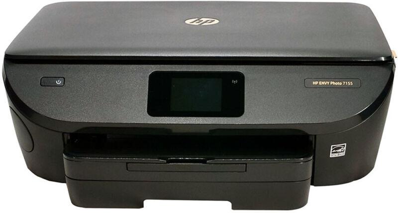 HP ENVY Photo 7155 Printer - Refurbished With Ink