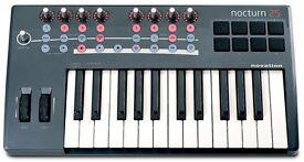 Novation Nocturn 25 controller keyboard