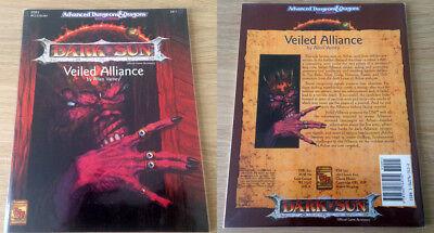 DARK SUN Veiled Alliance - DSR3 AD&D D&D Dungeons Dragons 2411