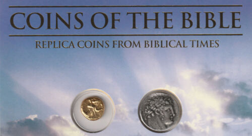 WHITMAN -CASE OF 48 REPLICA ANCIENT COINS OF THE BIBLE - 16 SETS OF 3 #ACS-BIBLE