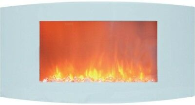 electric fireplace 35 in wall mount