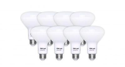65 Watt Equivalent SlimStyle BR30 LED Light Bulb Soft White 2700K 8 Pack R650 Home & Garden