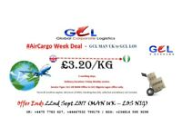 AIR CARGO (from/to) UK (from/to) Nigeria - |WORLDWIDE Express Delivery | #GCLShipping