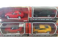 Diecast Supercar bundle 1:43 scale - 4 x Supercars