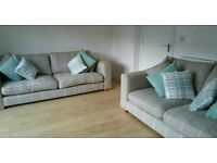 2x Large Barker & Stonehouse Abbeville Sofa's