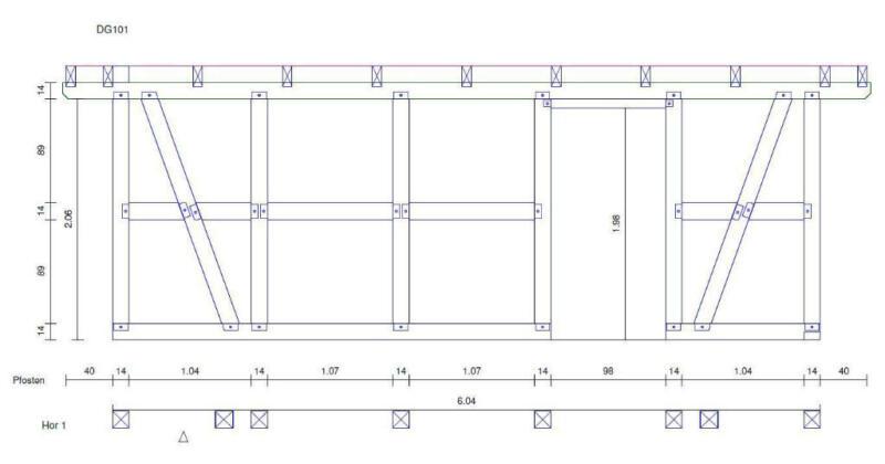 carport bausatz satteldach fachwerk doppelcarport spitzdach in nordrhein westfalen. Black Bedroom Furniture Sets. Home Design Ideas