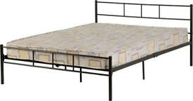 BRAND NEW 4ft6 Double Metal Bed with or without mattress