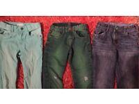 BoysBoys jeans age 6-7 yrs x 3, zara, H&M, Denim co