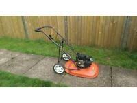 Flymo petrol hover mower