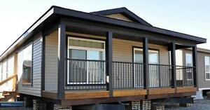 Brand new home for $159,900.  Includes appliances and deck!