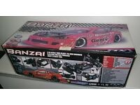 FTX BANZAI 1/10 SCALE ELECTRIC 4WD STREET DRIFT RC CAR NEW IN BOX RTR
