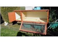 4ft Rabbit Hutch for sale