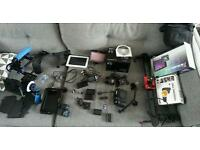 Gh4 3 batteries & 2 chargers, lumix 14-45, shoulder rig, tablet, lcd screen, slider ..etc