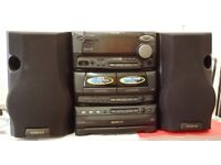 KENWOOD Mini HIFI COMPONENT SYSTEM RXD 500