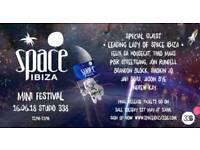 2 x Tickets for Space Ibiza Mini-Festival at Studio 338 Sat 16th June