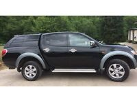 mitsubushi l200 limited addition elegance 56 plate immaculate