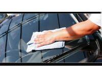 Car valeting service