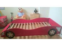 KIDS CAR DESIGN SINGLE BED