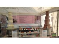 "2x Sephra 44"" 5 Tiers Commercial Chocolate Fountain + Lots of Extras!!! New Business Set Up"