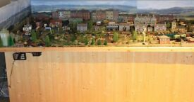 TRAIN SET LAYOUT COMPLETE 10FT X 4FT 00 SCALE PLEASE READ CAREFULLY