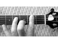 Guitar Tuition, For Beginners on Acoustic/ Electric and Ukulele. £10 per half hour £15 for an hour.