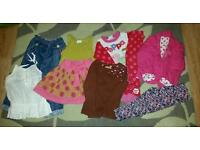 bundle of girls clothes age 2-3yrs