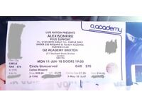Face Value: Alexisonfire - 2x Balcony tickets - Brixton Academy 11.06 (COLLECTION ONLY)