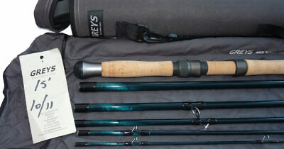 Greys of Alnwick GRX Salmon Travel fly rod15'-6pce with bag & tube, best