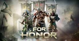 FOR HONOUR ps4 (USED) EXCELLENT CONDITION