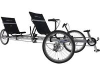 TerraTrike Rover Recumbent Tandem - Delivery Available
