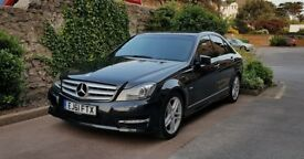 2011 Mercedes Benz C220 AMG SPORT EDITION 125 CDI BLUE Efficiency