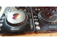 Pair of CDJ 1000 Mk3, vgc with semi flight cases. Low use.