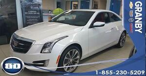 2017 Cadillac ATS Coupe Luxury AWD CUIR ROUGE TOIT OUVRANT 2L TU