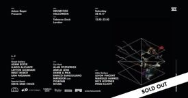 2 x standard tickets for Drumcode Halloween @ The Tabacco Docks on the 28th October 2017 £55 each!!