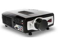 KitMaster HD compatible Projector with spare bulb, HDMI input x2, 854x540 resolution, 2000 Lumens!