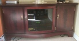 Strongbow Mahogany HiFi / TV cabinet Excellent condition