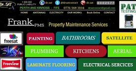 PROPERTY MAINTENANCE SERVICES - PAINTING , PLUMBING , ELECTRICAL SERVICES