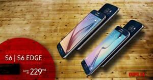 Samsung Galaxy S6 et S6 edge sans contrat + Deverrouillé