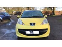 Peugeot 107 urban for sale, nearly a year mot, very good runner.