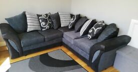 BRAND NEW SHANNON LEATHER FABRIC SOFAS
