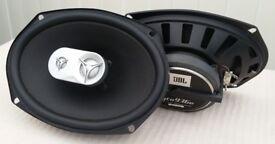 "JBL GTO936E 6"" x 9"" THREE-WAY CAR AUDIO LOUND SPEAKERS £40"