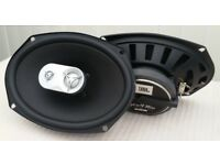 "JBL GTO936E 6"" x 9"" THREE-WAY CAR AUDIO LOUND SPEAKERS £40"