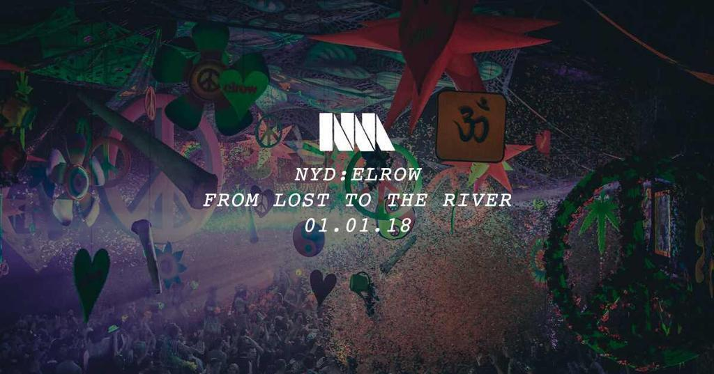 2 tickets to New Year's Day elrow in