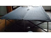 Foldable double camp bed