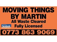 *Moving Things By Martin* Affordable Rubbish Clearance and Demolition