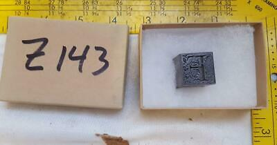 Alphabets Letterpress Print Type Paragraph Monogram 60pt Ornamental F  Z143 1